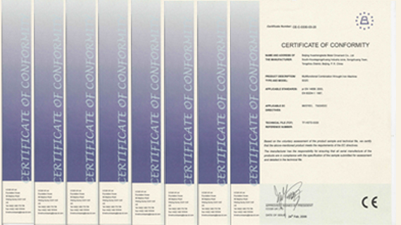 Introducing Our CE Certifications